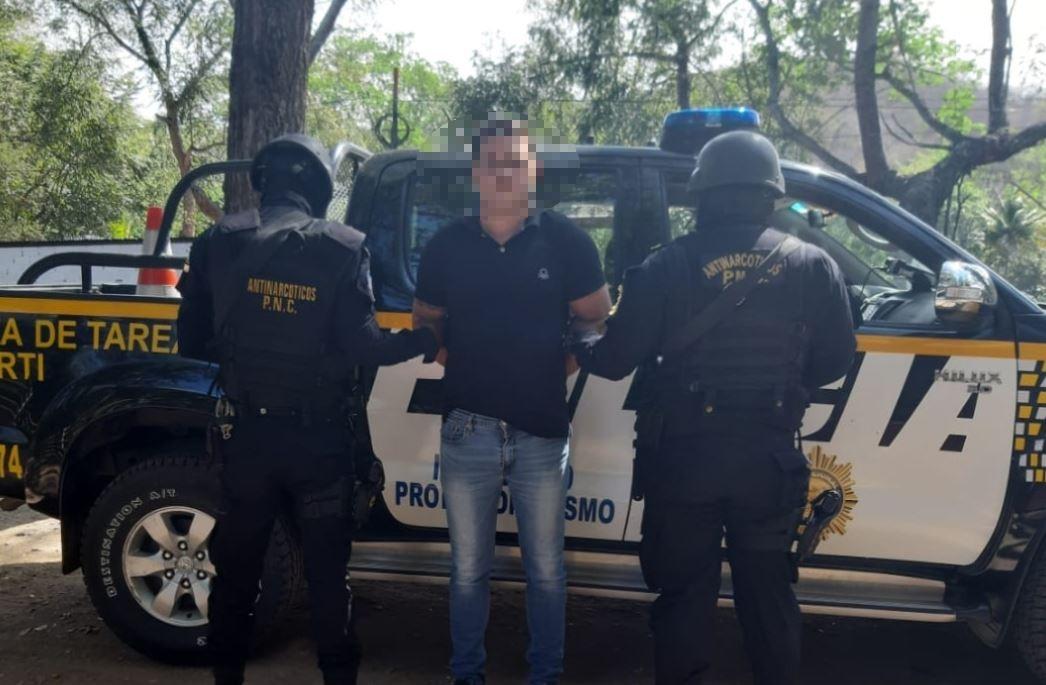 Capturan en Zacapa a supuesto narcotraficante pedido en extradición por EE. UU.