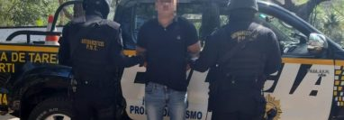 """Cristian Alexander León Caballero, alias """"Chris"""". (Foto Prensa Libre: Cortesía)."""