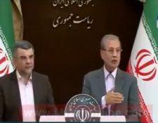 El viceministro de sanidad iraní Iraj Harirchi se notaba visiblemente afectado en una de las actividades públicas. (Foto Prensa Libre: @mundoEconflicto)