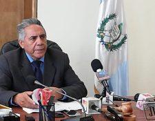 José Roberto Alvarado Villagrán, juez B del Juzgado Pluripersonal de Primera Instancia de Trabajo y Previsión Social y Económico Coactivo de Quetzaltenango. (Foto Prensa Libre: Mynor Toc)
