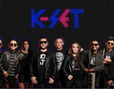 K-Set es una propuesta musical que apela a la nostalgia de la música de la década de 1980. (Foto Prensa Libre)