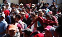 El dirigente magisterial Joviel Acevedo sali— a las calles con cientos de maestros en una marcha que comenz— en El Obelisco y que tiene como objetivo final pedir fondos para salud y educaci—n, que incluyen el dinero suficiente para los pactos colectivos.  NOE MEDINA  26112019