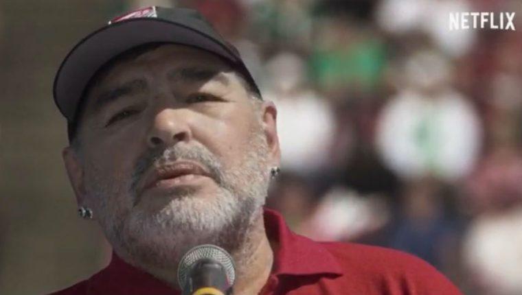 "Diego Maradona participará en la serie ""Puerta 7"", de Netflix. (Foto Prensa Libre: Netflix)"
