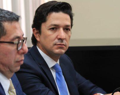 Víctor Martínez fue ministro de Finanzas del 13 de septiembre de 2018 al 4 de enero de 2020. (Foto Prensa Libre: Edwin Pitan)