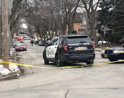 """La policía de Milwaukee informó sobre un """"incidente crítico"""" en una fábrica de cervezas. (Foto Prensa Libre: Cearron Bagenda / Twitter)"""