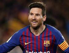 Leo Messi fue reconocido como el Mejor Deportista del Año en los premios Laureus World Sport. (Foto Prensa Libre: Hemeroteca)