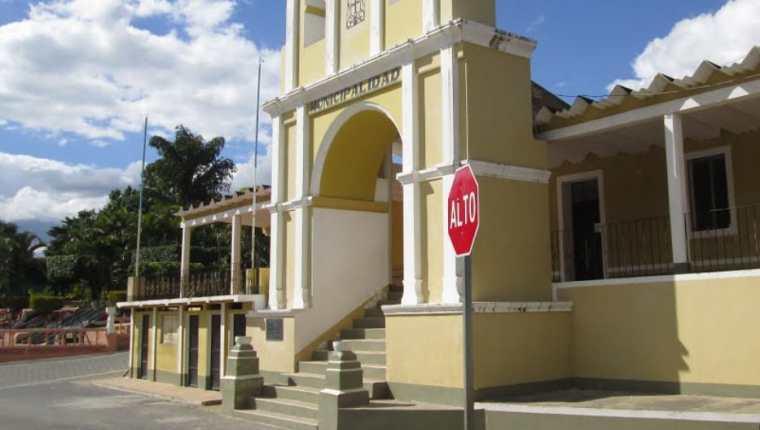 La municipalidad de San Jerónimo, Baja Verapaz, lugar desde donde se desviaron los recursos. (Foto Prensa Libre: Hemeroteca PL)