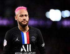 Neymar juega en la actualidad en Francia con el Paris Saint-Germain. (Foto Prensa Libre: AFP)