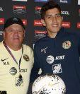Miguel Herrera (izquierda) le respondió a Mauricio Tapia. (Foto Prensa Libre: Cortesía Sherly Pérez)