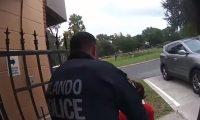 Un agente de la policía de Orlando, Florida arrestó a una niña de 6 años. (Foto Prensa Libre: captura de pantalla)