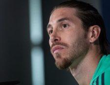 El defensa y capitán del Real Madrid Sergio Ramos, espera que su club se recupere contra el City. (Foto Prensa Libre: EFE)