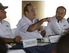 Alejandro Giammattei se reunió este sábado con el Gabinete para analizar la readecuación del presupuesto. (Foto, Prensa Libre: Hemeroteca PL)