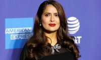Palm Springs (United States), 03/01/2020.- Mexican-American actress Salma Hayek arrives at the 31st Palm Springs International Film Festival in Palm Springs, California, USA, 02 January 2020. The Palm Springs International Film Festival awards actors in eleven categories. (Cine, Estados Unidos) EFE/EPA/NINA PROMMER