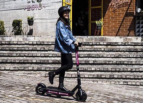 Esta empresa promueve el transporte ecológico para evitar el aumento del tránsito. Foto Prensa Libre: Cortesía
