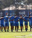 Entrenamiento de la Selección Nacional en el microciclo de esta semana. (Foto Prensa Libre: Jeniffer Gómez)