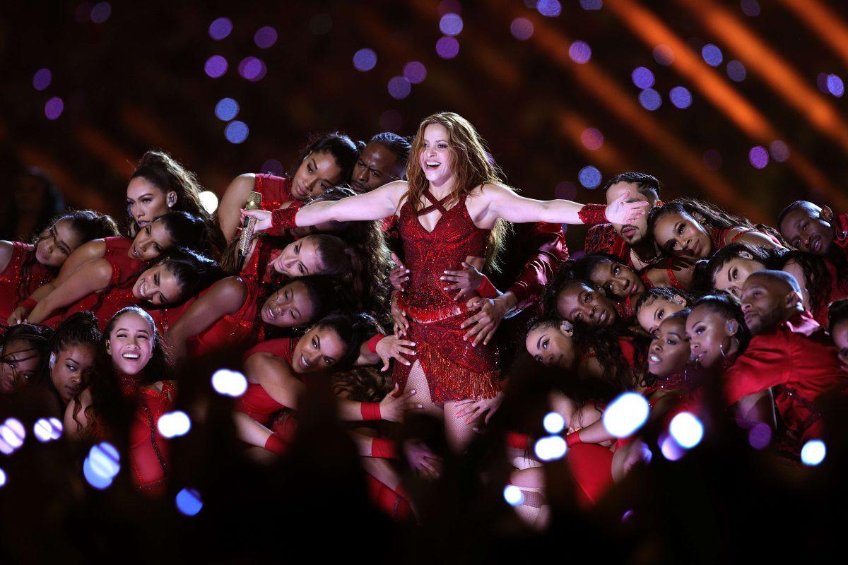 Qué dijo Shakira sobre la joven de Barranquilla que le enseñó a bailar para el Super Bowl