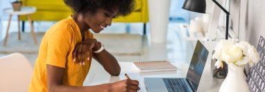 Para que el trabajo en casa funcione es importante una buena organización. (Foto Prensa Libre: Servicios).