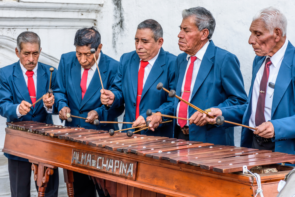Día de la Marimba: canciones famosas