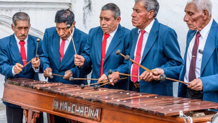 La marimba fue declarado instrumento nacional de 1978. (Foto Prensa Libre: Servicios).