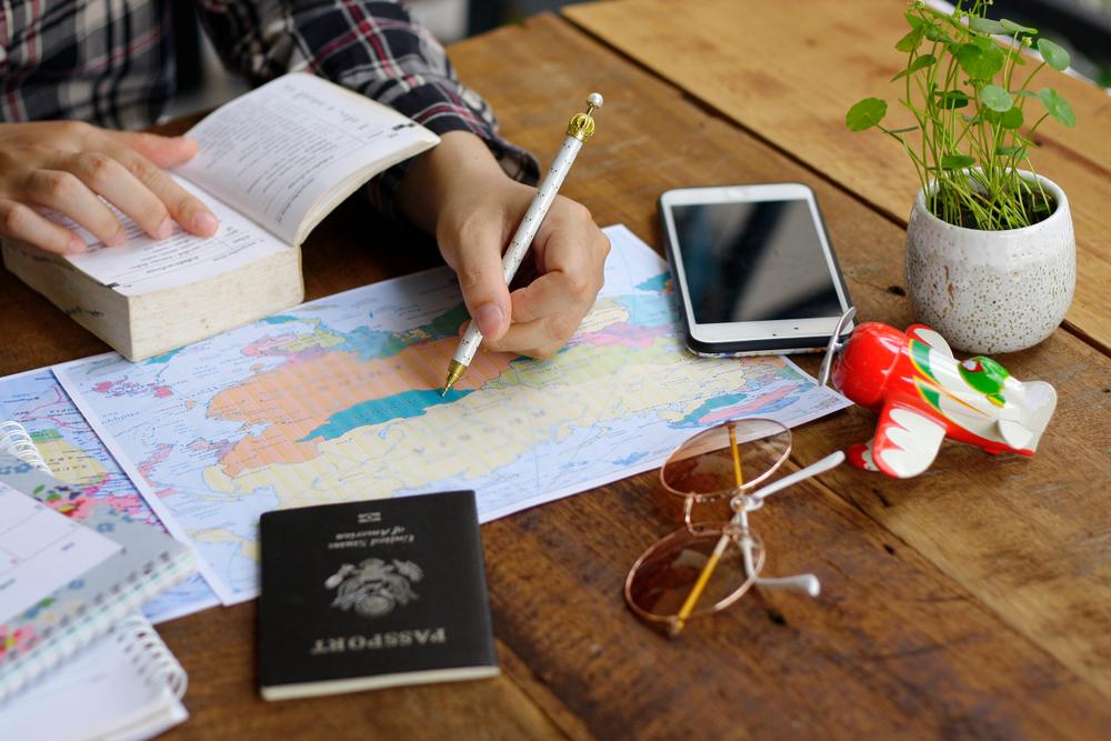 Cómo planificar un viaje en 10 pasos