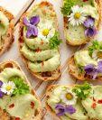 Las flores en los platillos aportan originalidad y son de beneficio a la salud por las vitaminas que contienen. (Foto Prensa Libre: Servicios).