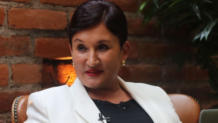 Thelma Aldana, exfiscal general de Guatemala. (Foto Prensa Libre: Hemeroteca PL)