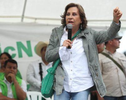 Resolución del TSE: Sandra Torres podrá continuar en la secretaría general de la UNE