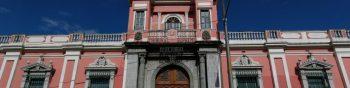 Casa Yurrita, actualmente sede del Tribunal Supremo Electoral (TSE). (Foto Prensa Libre: Hemeroteca PL)