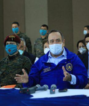 Coronavirus: hacen entrega del Hospital Campaña en el Parque de la Industria