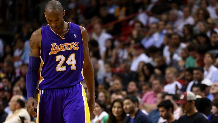 Kobe Bryant falleció a los 41 años en un accidente aéreo. (Foto Prensa Libre: Hemeroteca PL)