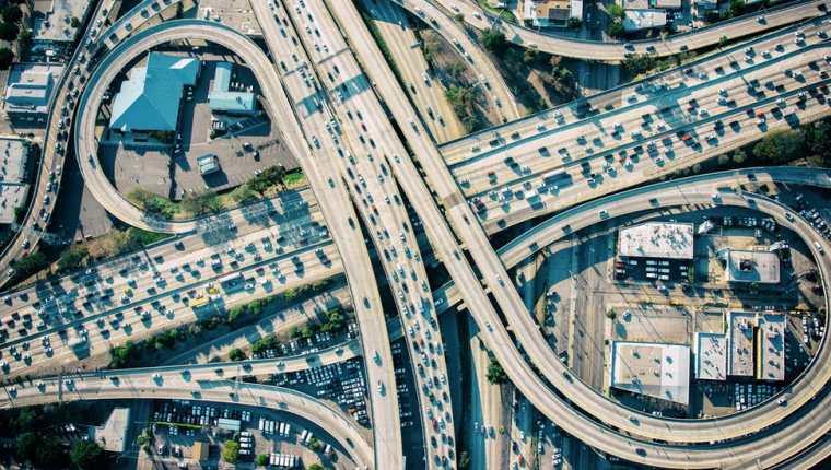 California es el estado más rico de Estados Unidos... y uno de los que peor tráfico tiene.