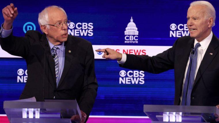Bernie Sanders y Joe Biden parten como principales favoritos para ser el nominado demócrata.