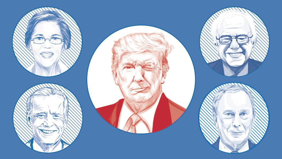 Elecciones 2020 en Estados Unidos: los 5 candidatos demócratas que compiten por enfrentarse a Trump