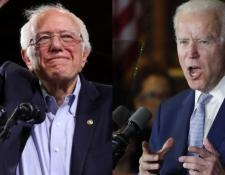 Sanders y Biden son los precandidatos demócratas más populares. REUTERS