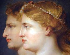 Agripina la Mayor, miembro de la dinastía Julio-Claudia, hija del emperador Augusto, estuvo casada con Germánico y fue madre de nueve hijos, entre ellos el emperador Calígula y la emperatriz Agripina la Menor.