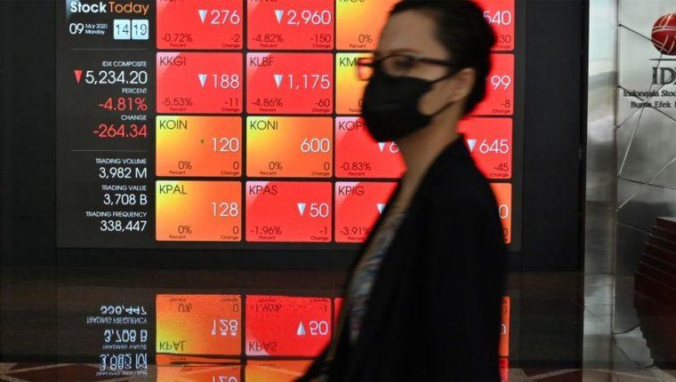 El desplome petrolero y bursátil se produce en medio de la crisis global provocada por el coronavirus, que ha hundido la demanda de crudo en el mundo.