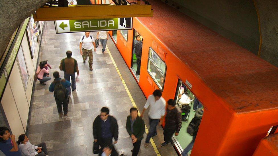 Metro Tacubaya: un choque de trenes en Ciudad de México deja 1 muerto y al menos 41 heridos