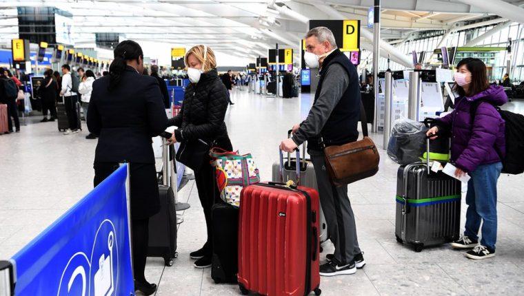 El sábado el aeropuerto de Heathrow en Londres estuvo mucho menos concurrido que lo habitual.