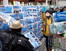 El papel higiénico no es un producto que ayude en la pandemia del coronavirus, pero es de lo más comprado.