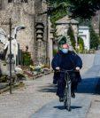Tuvieron que cerrar el cementerio de Bérgamo para proteger a las personas mayores. GETTY IMAGES