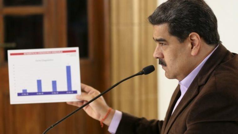 Tras años siendo muy crítico con el FMI, ahora Maduro acude al ente para buscar financiación. EPA