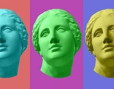 Afrodita, la diosa de la belleza, la sensualidad y el amor, no era siempre la misma.