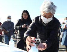 Japoneses toman sus medidas de prevención por el covid-19- (Foto: BBC)