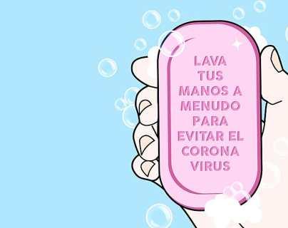 Coronavirus: qué le hace el jabón al virus causante de la covid-19