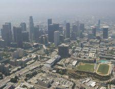 Ciudad de Los Ángeles, California. (Foto: AFP)