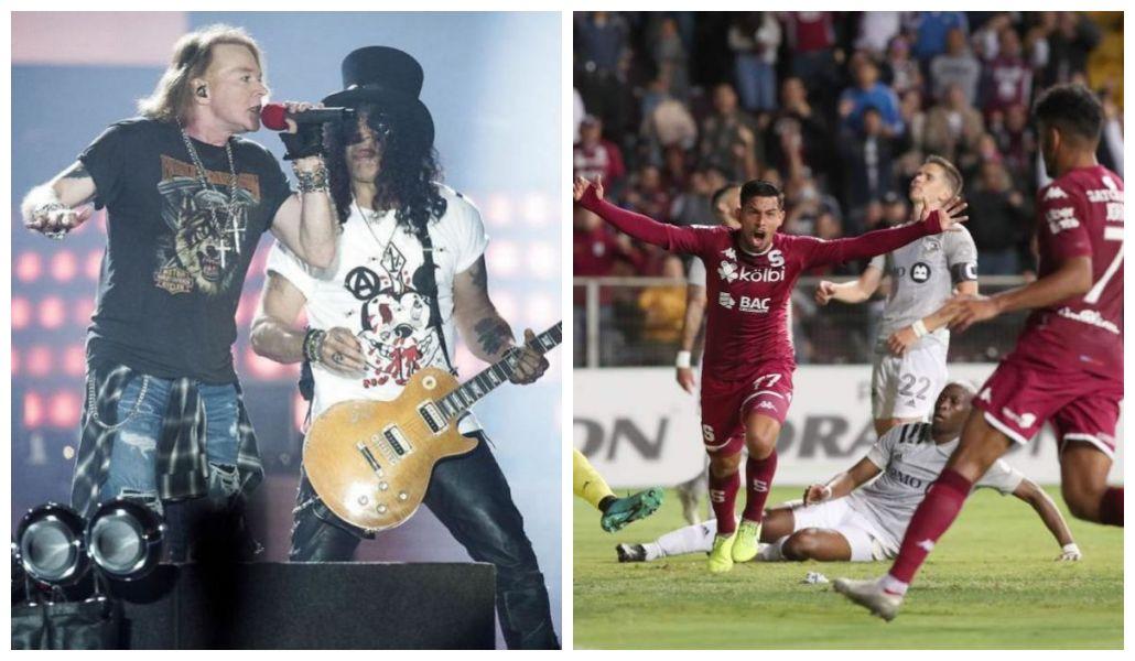 Coronavirus: Costa Rica cancela concierto de Guns N' Roses y ordena jugar la liga de futbol sin público
