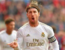 El capitán de la Selección española y del Real Madrid fue felicitado por llegar a 34 años. Foto Prensa Libre: AFP