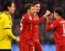 El futbol en Alemania se tiene fecha de reanudación a inicios de abril. Foto Prensa Libre: EFE