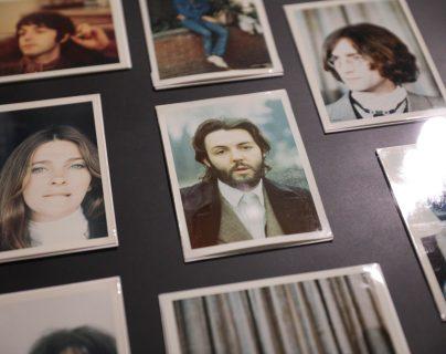 """Fotografía parte de la exposición de Linda McCartney """"The Polaroid Diaries"""" que se expone en una galería de Berlín, Alemania.  Foto Prensa Libre: EFE"""