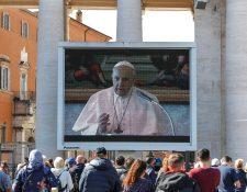 El papa Francisco anunció su decisión de nombrar un nuevo obispo por medio de la oficina de Prensa de la Santa Sede. (Foto Prensa Libre: EFE)